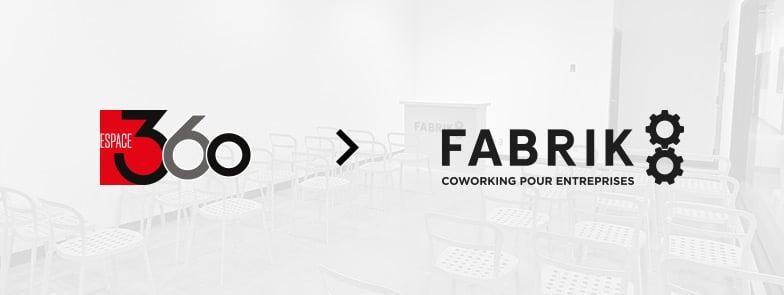 (FR) Espace 360 change de nom et devient Fabrik8