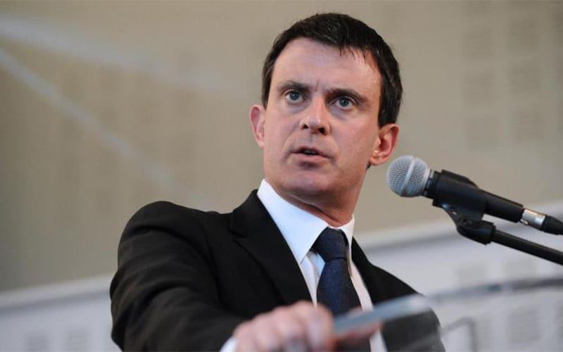 Manuel Valls de passage chez Fabrik8