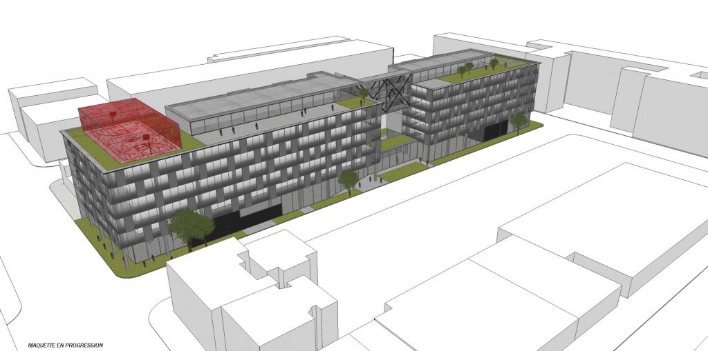 La firme rocioarchitecture est mandatée pour le nouveau complexe Fabrik8 Waverly dans le Mile-Ex