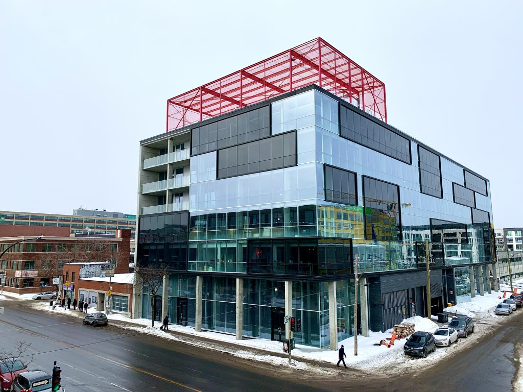 Fabrik8 makes its mark in the bustling Mile-Ex with its brand new office complex